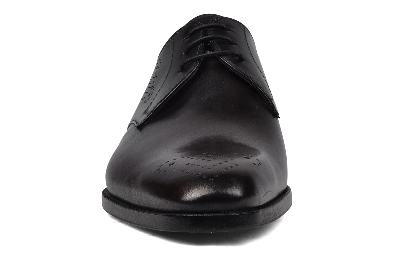 Lace-up shoes StefanoBi Fondi Black model view